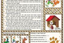 Nemčina Texty