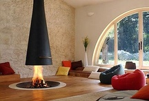 fireplaces / by Cindy Kasica