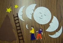 Picture book play-Papa please get the moon for me