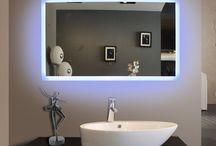 Spiegels met led verlichting / Spiegels met led verlichting | Spiegel op maat | door vidre glastoepassingen | Leiden