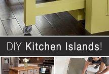 Kitchen islands & ideas