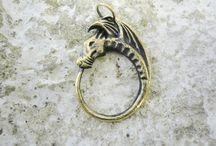Cast brass pendants / Handmade cast brass pendants for everyone