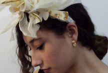 Tocados de novia y comunión / Modelos únicos y exclusivos realizados artesanalmente. Diseñamos y creamos.