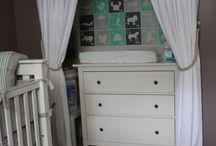 Nursery for Harper / Small space  / by Abigail Goss