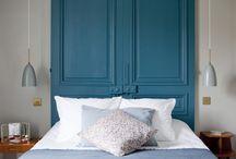tete de lit / Plein d'idées pour une tête de lit !