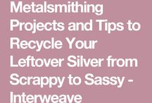 Recycling silver bits