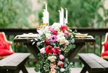 Floral decor / Beautiful floral decor inspirations and ideas to help brighten your home or event.