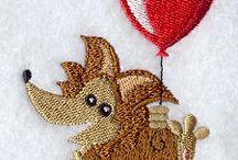 Embroidery designs / by Janine Colasurdo