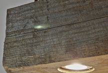 hout lamp