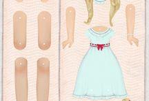 påklædning s dukke