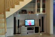 lemari tangga