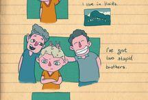 Back to Adventure / My comics about a boy named Matt.