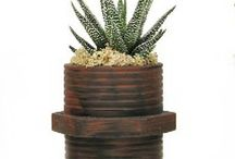 Industrial Masculine Planters