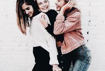 Fotoshoot oma zussen