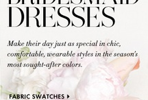 Chic and Stylish Bridesmaids Dresses