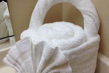 towel folding ideas
