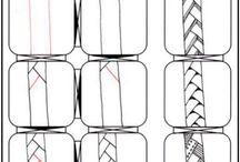 Zen tangle - tutorials