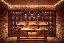 Wine room design - vinárničky