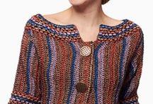 Háčkované vesty a svetříky
