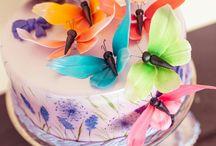 Butterfly wedding cake * Dulce by Paula / Butterfly wedding cake decorations