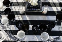 Trend Watch: Black and White Inspired Events / If you're looking for a classic color scheme that can be modern, formal, elegant, fun and polished (all in one) - look no further than black and white for your next event. Below are some of our favorite ways to use black and white at events inspired by BizBash.