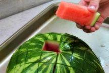 come servire anguria