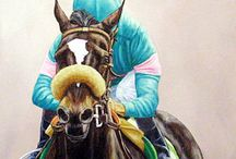 Race Horses In Art- Zenyatta