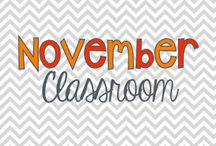 November Classroom / by LaKeta Siler Ille