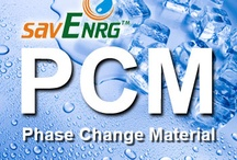 Phase change materials. / This board is about Phase Change Materials, ideas  and applications.