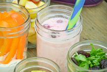 Mason jar lunches for kids
