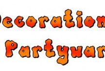 Halloween Decorations & Partyware