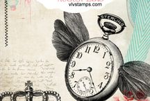 Viva Las VegaStamps! Challenges / All of our challenge inspiration boards -- Join us monthly to win prizes! vivalas.blogspot.com