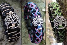 My paracord bracelets