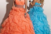 Color Explosion Wedding Gowns