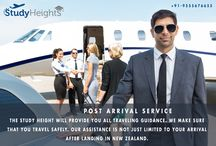 POST ARRIVAL SERVICE / Study height is offering the best post arrival services at full free of cost.
