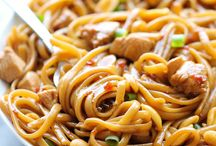 Dana ❤ Pasta / Pasta can be eaten in so many different combinations and there are so many cuts of Pasta. Pasta with sauce, meats, seafood, veggies and more! I have even been seen eating pasta for breakfast! Italian I am!