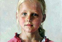 Portretter barn
