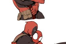 Deadpool/spideypool