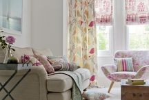 Folia / Folia, is a charming and playful collection of printed cotton designs, providing endless colour coordinating options for around the home. Botanical floral patterns combine with bold stripes and dramatic geometrics, with colours ranging from easy living Naturals through to punchy shades of Spice, Mineral and Sorbet.