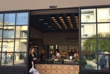 Project - Panificio pasticceria Bonjour / La ceramica #abkemozioni personalizza uno spazio commerciale ad Atene (Grecia)