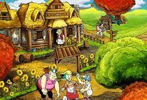 slavic || Cartoon, comics, games