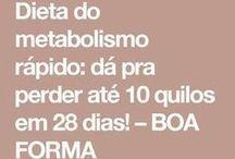 dieta do metabolismo