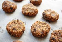 Cookies, Bars, Balls / Gluten-free, no added refined sugar