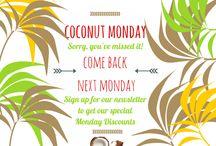 Coconut Mondays / Coconut Mondays Deals