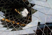 "Frankfurt Am Main / architectuur ""MyZeil"" Shopping Mall"