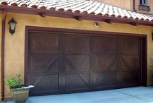 Carriage Garage Doors / Awesome garage doors that will dress up any house.