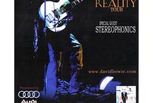 DAVID BOWIE REALITY TOUR POSTER