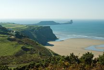 Gower / Britain's first designated Area of Outstanding Natural Beauty (AONB), just a few miles from Swansea City Centre. Great for walking and watersports. Fantastic beaches.