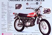 Suzuki Enduro Bikes