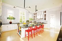 The Heart of the Home / Everyone knows the kitchen is the heart of the home... and these kitchen designs definitely make our heart beat a little faster!